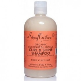 Shea moisture coconut hibiscus curl and shine 355ml