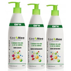 KEE MEE keratin-straight kit  500ML