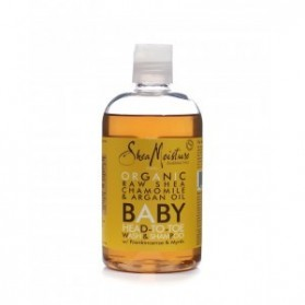 Shea moisture baby head to-toe shampoing et gel douche 355ml