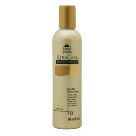 Keracare natural textures hair milk à l'huile d'amla, argan, jojoba 240ml