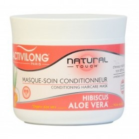 Activilong natural touch masque soin conditionneur hibiscus aloe vera 240ml