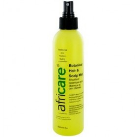 Africare botanical hair et scalp mist spray anti desseschement 240ml