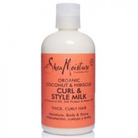 Shea moisture coconut hibiscus curl and style milk 237ml