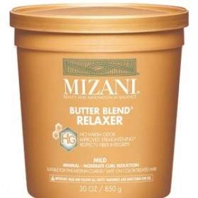Mizani butter blend rhelaxer fine colored 850G